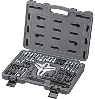 ARES 71000 | 43-Piece Harmonic Balancer Puller Set | for Use with Harmonic Balancers