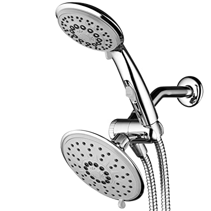 Rain Shower Head And Handheld.Buy Hydroluxe 30 Setting Ultra Luxury 3 Way 6 Inch Rainfall