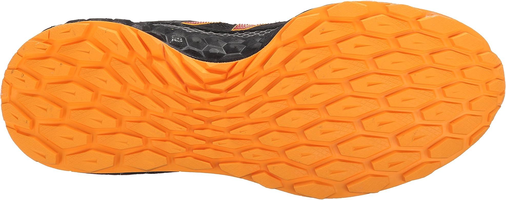 New Balance - Zapatillas para Correr en montaña para Hombre Negro Negro/Naranja: Amazon.es: Zapatos y complementos