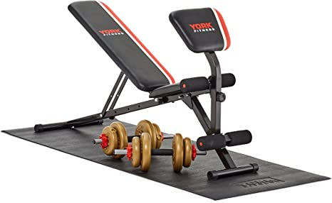 York Fitness - Esterilla de protección para aparatos de Gimnasio ...
