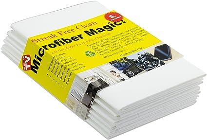 Trapos de microfibra Magic - Para limpieza: coche, cocina, cristal, pantallas de
