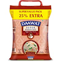 Daawat Super Basmati Rice, 5 kg