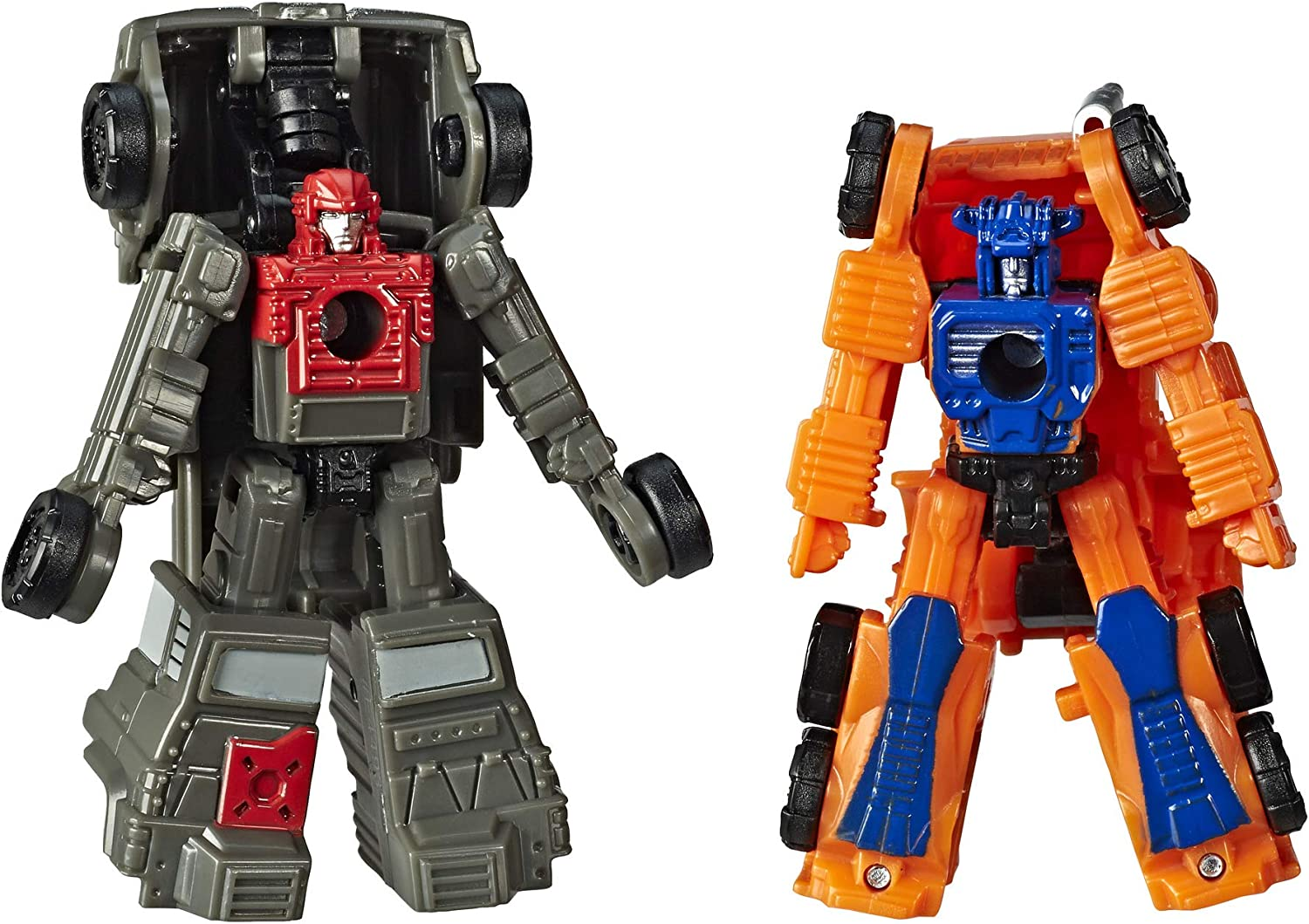 Transformers Toys Generations War for Cybertron: Siege Micromaster Wfc-S33 Autobot Off-Road Patrol 2-Pack - Adults and Kids Ages 8 and Up, 1.5-Inch