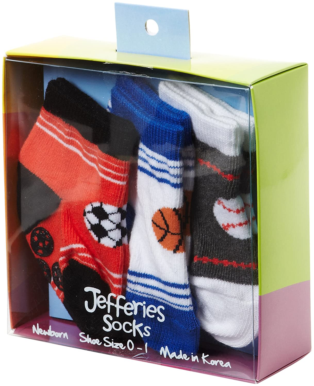Jefferies Socks Baby Girls Sporty Nonskid Socks