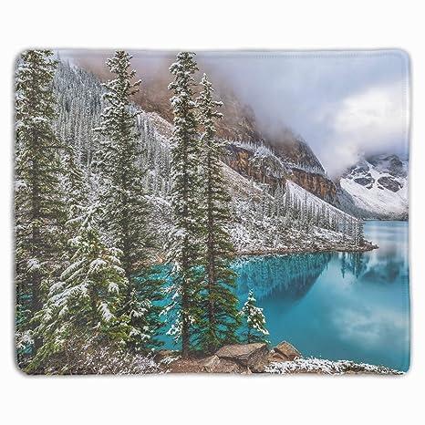 Amazon Com Moraine Lake Winter Banff National Park Alber