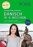 PONS Power-Sprachkurs Dänisch in 4 Wochen: Lernen Sie Dänisch mit Buch, 2 Audio+MP3-CDs und Online-Tests