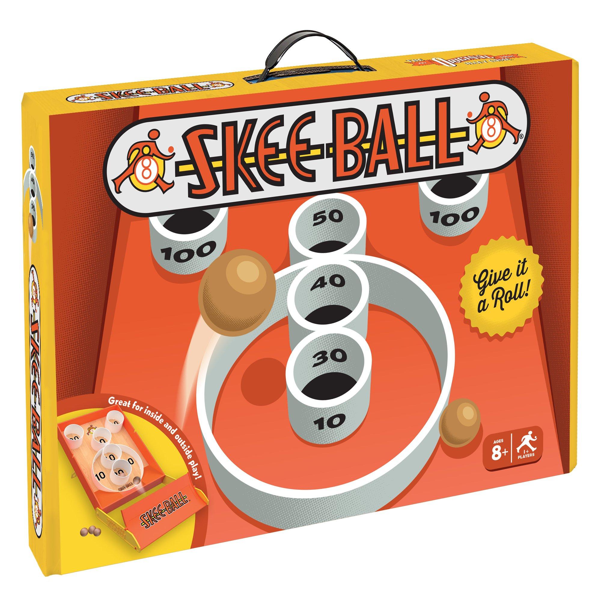 Buffalo Games Arcade Style Skee-Ball, Multicolor