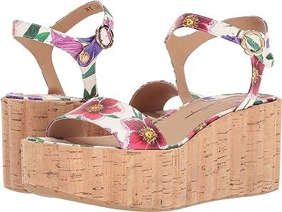 d1e14fa65e25 Amazon.com  Salvatore Ferragamo Women s Tropea Wedge Sandals  Shoes
