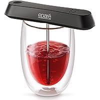 Aérateur de vin de poche Eparé – carafe de voyage pour un seul verre – modes pour bouteilles de vin rouge, blanc ou de porto – en vedette dans le guide des cadeaux des Fêtes de Good Housekeeping