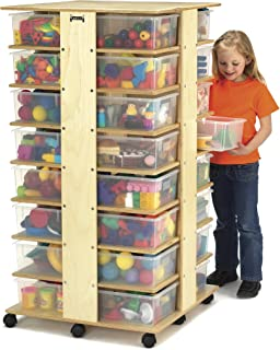 product image for Jonti-Craft 0354JC 32 Tub Tower with Assorted Colored Bins