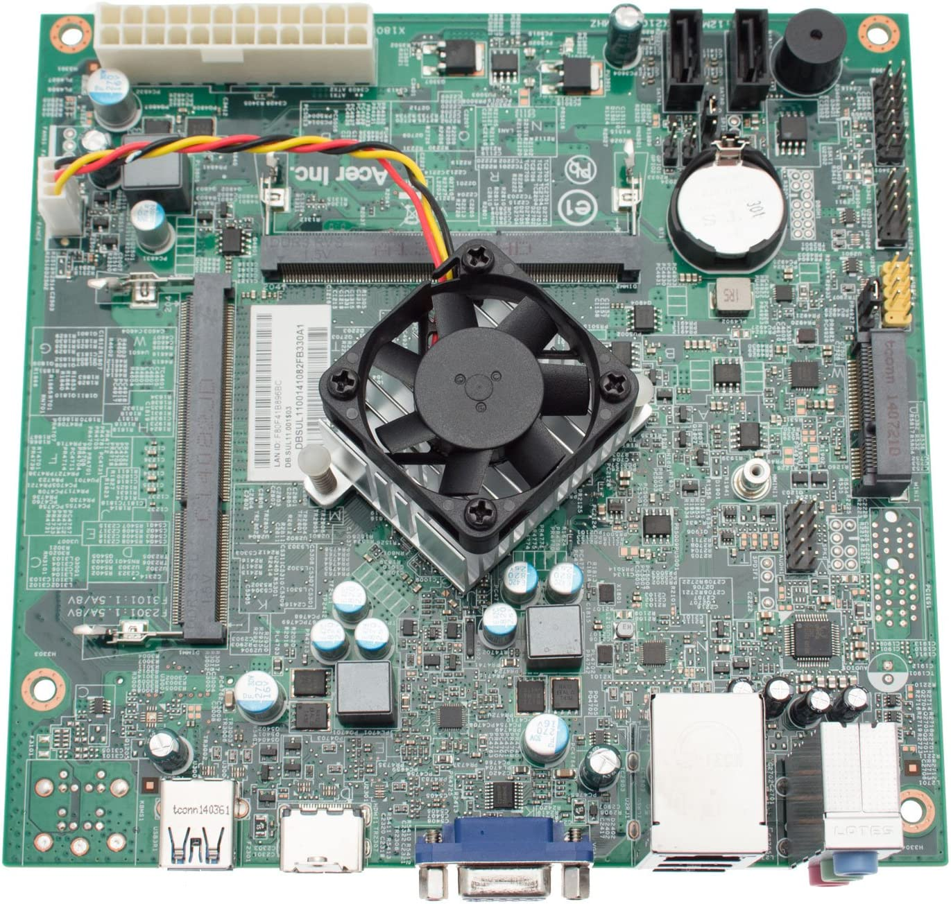 ACER DB.SUL11.001 Acer Aspire AXC-603G Desktop Motherboard w/Intel Celeron J1900 Your Motherboard is DB.SUL11.001