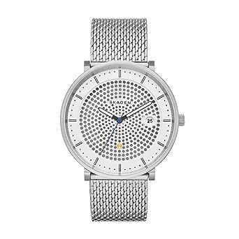 ae3700387988 Skagen Reloj analogico para Mujer de Cuarzo con Correa en Acero Inoxidable  SKW6278  Amazon.es  Relojes
