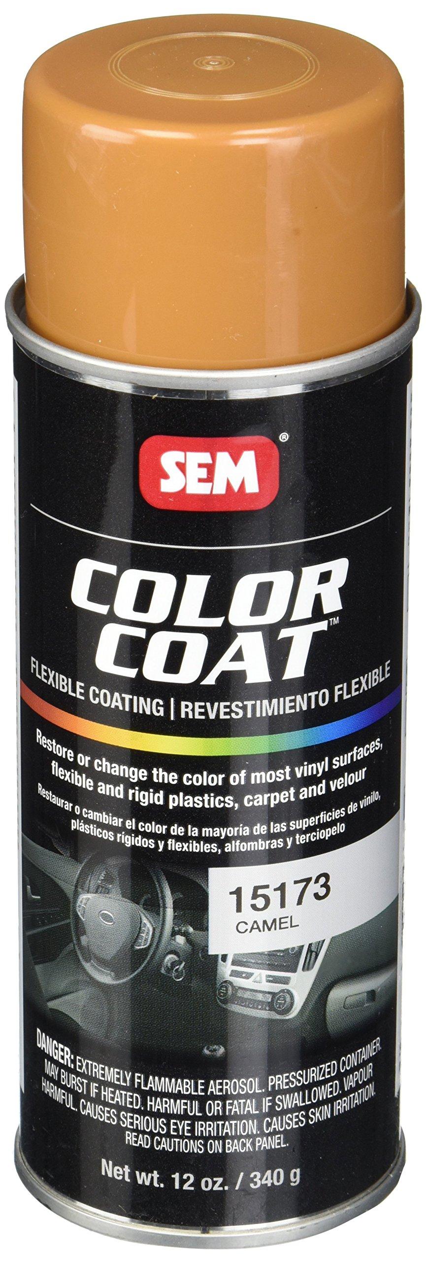 SEM Products 15173 Camel Color Coat - 12 oz.