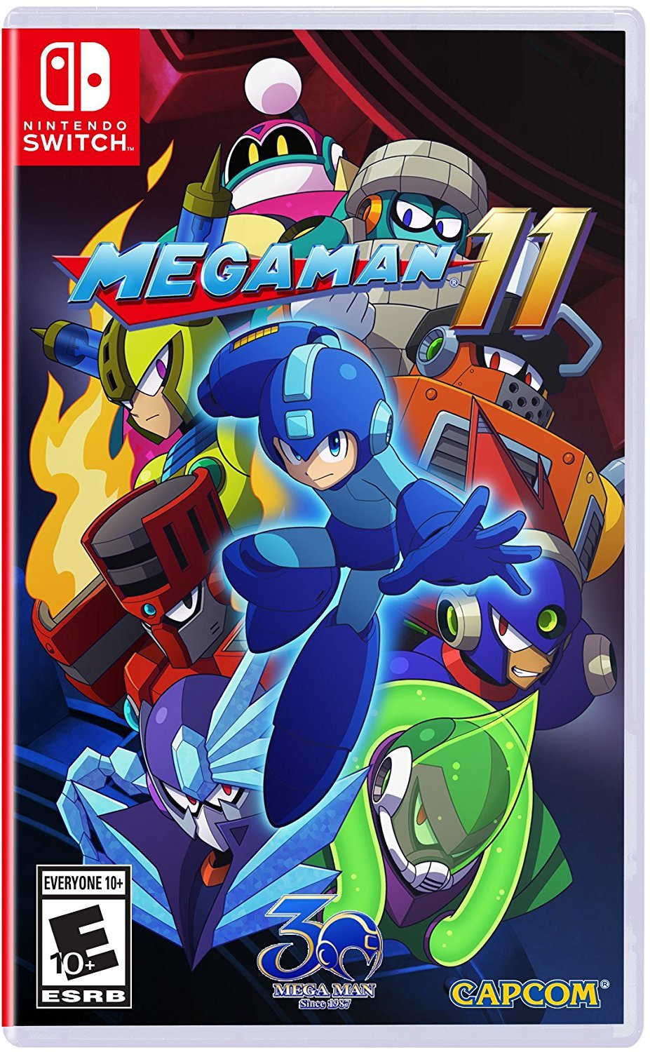 Mega Man 11 for Nintendo Switch: Amazon.es: Capcom U S A Inc: Cine ...
