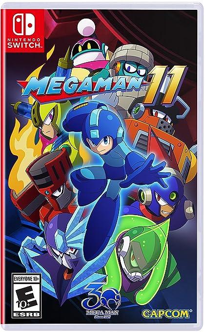 Mega Man 11 for Nintendo Switch: Amazon.es: Capcom U S A Inc: Cine ...