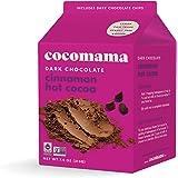 Cocomama Dark Chocolate Cinnamon Hot Cocoa - Vegan Hot Cocoa Made with Dark Chocolate Chips, Organic Fair Trade Cocoa Powder, Non-GMO, Kosher, 7.5 oz