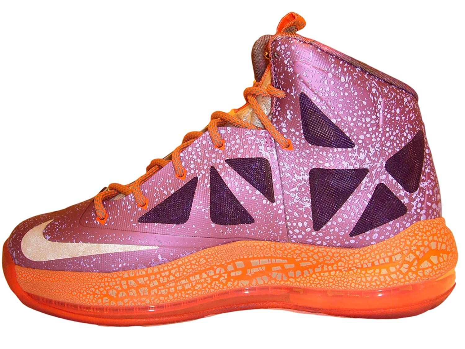 super popular 929a5 abf2b Amazon.com  NIKE LEBRON X 10 (BIG KIDS   WOMENS)