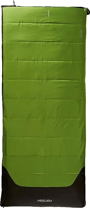 Nordisk Hjalmar +10° Saco de Dormir, Verde, L: Amazon.es: Deportes y aire libre