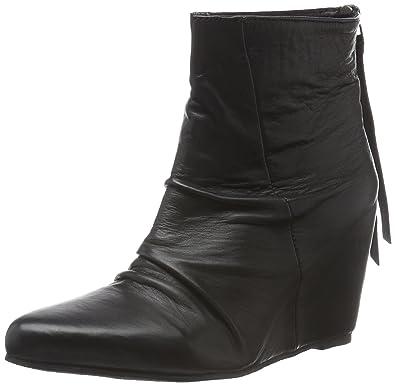 Robby Boots Chelsea Black Lily Noir Eu Femme Wedges schwarz 40 U6wxx5Oq