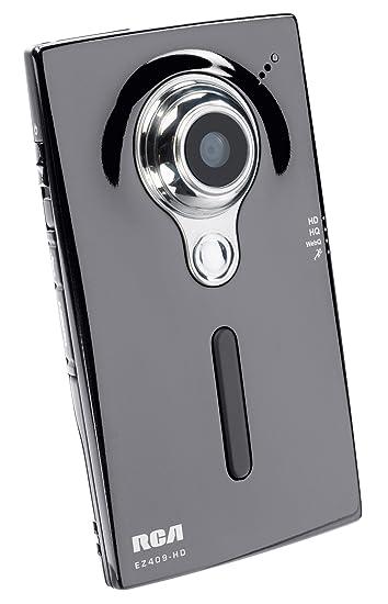 Amazon.com : RCA EZ409HD Small Wonder HD Camcorder (Silver ...