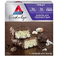 Deals on Atkins Endulge Treat Chocolate Coconut Bar 5 Count