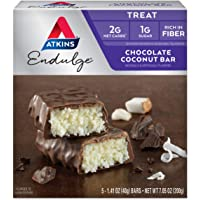 Atkins Endulge Bar Chocolate Coconut, Chocolate Coconut 5