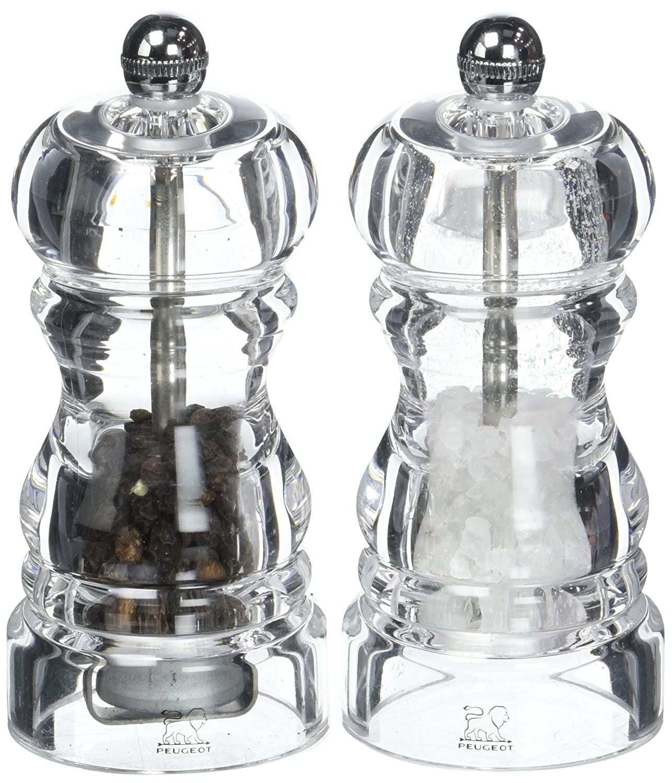 5fdbde6b920afc Peugeot Duo Nancy Moulins à Poivre et à Sel Acrylique 12 cm (2 900812)   Amazon.fr  Cuisine   Maison