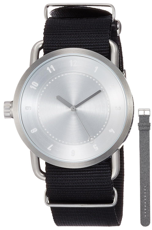 [ティッドウォッチ]TID Watches デザイナーズウォッチ ベルトセット スターターキット TID01-SV/NBK BELT SET 【正規輸入品】 B01N7V79L9