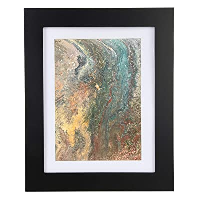 5Star-TD Easy Change Artwork Frame - Black - Fits 9' x 12' Artwork. Frame Measures 14.5' x 11.5' x 1 3/4': Home & Kitchen