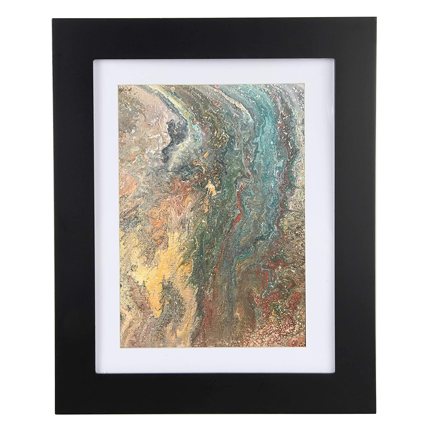 Easy Change Artwork Frame - Black - Fits 9 x 12 Artwork. Frame Measures 14.5 x 11.5 x 1 3/4 9R-IA1M-EB08