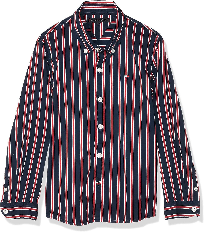 Tommy Hilfiger Camisa niño Art KB0KB05106 XA9 Color Foto Medida a Elegir Foto 14 años: Amazon.es: Ropa y accesorios