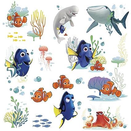 Decals, Stickers & Vinyl Art Nursery Décor Disney Pixar Finding Dory Kids Wall Art Stickers Nursery Decor Hank Destiny Nemo