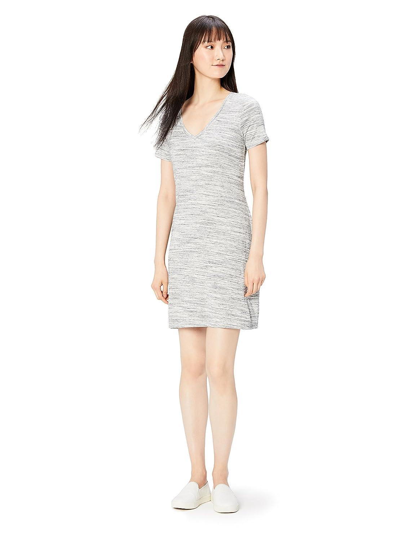 Daily Ritual Women's Jersey Short-Sleeve V-Neck T-Shirt Dress DRSB1003