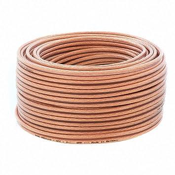 DCSk 10m - 2x4mm² Kupfer Lautsprecherkabel Ring: Amazon.de: Elektronik