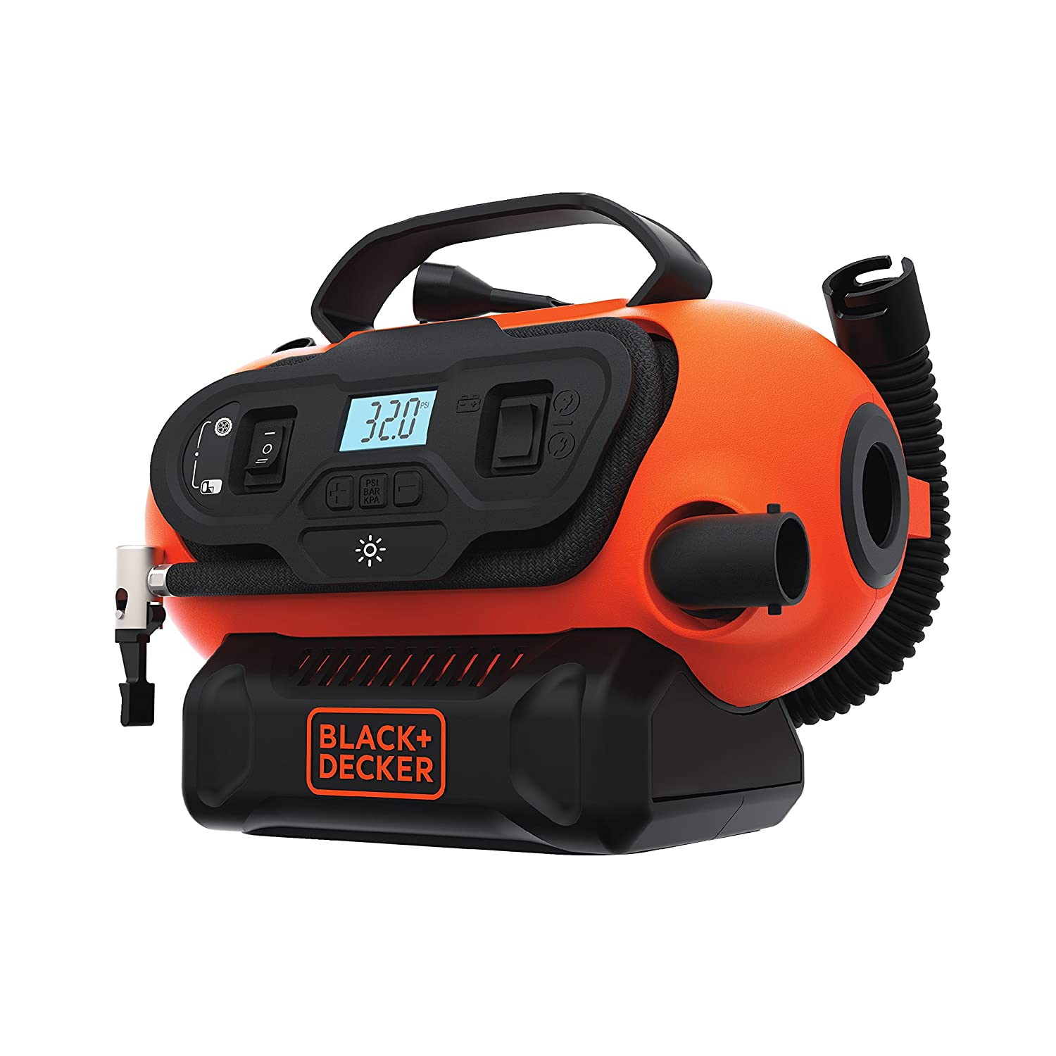 BLACK+DECKER BDINF20C 20V Lithium Cordless Multi-Purpose Inflator with LBXR20CK 20V Max Lithium Ion Battery + Charger - - Amazon.com