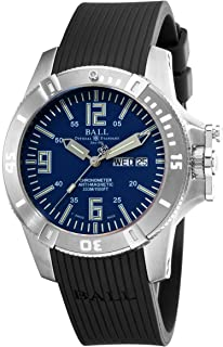 Ball Mens DM2036A-PCA-BE Spacemaster Blue Day Date Dial Watch