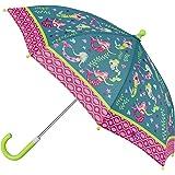 Stephen Josheph Gifts Kids' Stephen Joseph All Over Print Umbrella, Mermaid, one Size