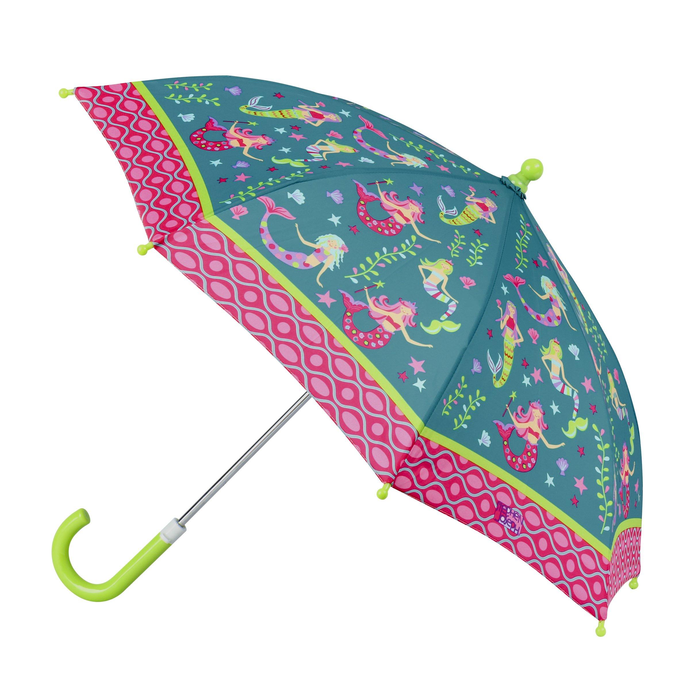 Stephen Joseph All Over Print Umbrella, Mermaid,One Size
