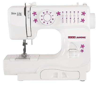 Usha Janome Sew Lite Deluxe Automatic ZigZag Sewing Machine White Unique Usha Janome Sewing Machine Price List