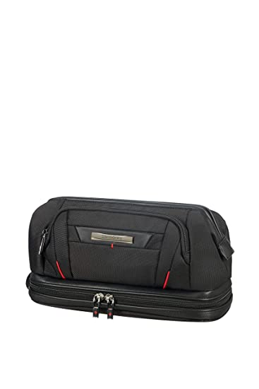 Amazon.com  SAMSONITE Pro-DLX5 Cosmetic Cases - Large Opening Toiletry Bag 8075d783df6bb