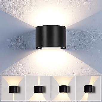 LED murale éclairage design extérieur Lampe murale Lampe d/'exterieur luminaire extérieur réglable
