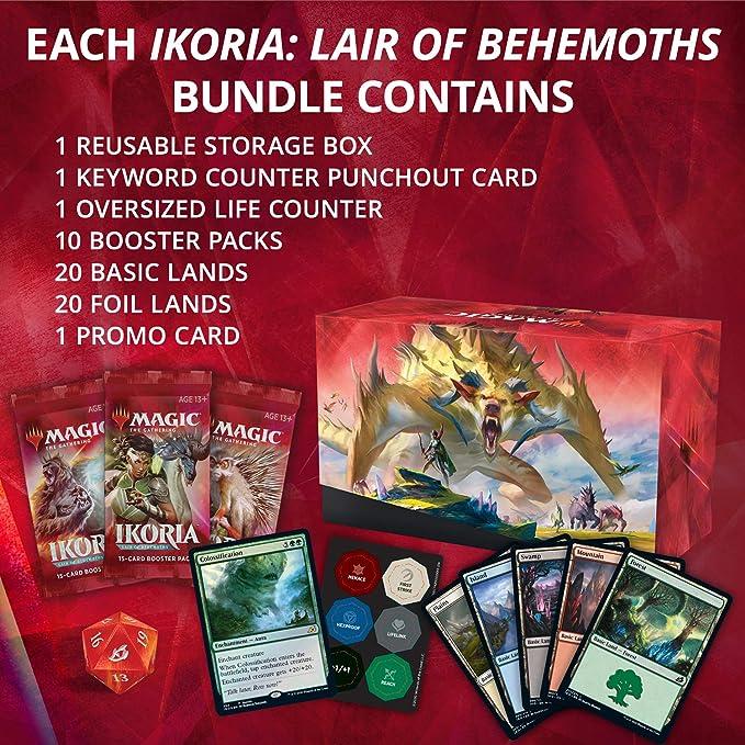 Magic: The Gathering Ikoria Bundle (incluye 10 paquetes de refuerzo) , color/modelo surtido: Amazon.es: Juguetes y juegos