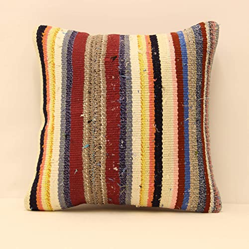 Kilim cushion Boho pillow Home design Turkish pillow 50\u00d750 Kilim pillow cover Decorative pillow Vintage pillow Kilim pillow
