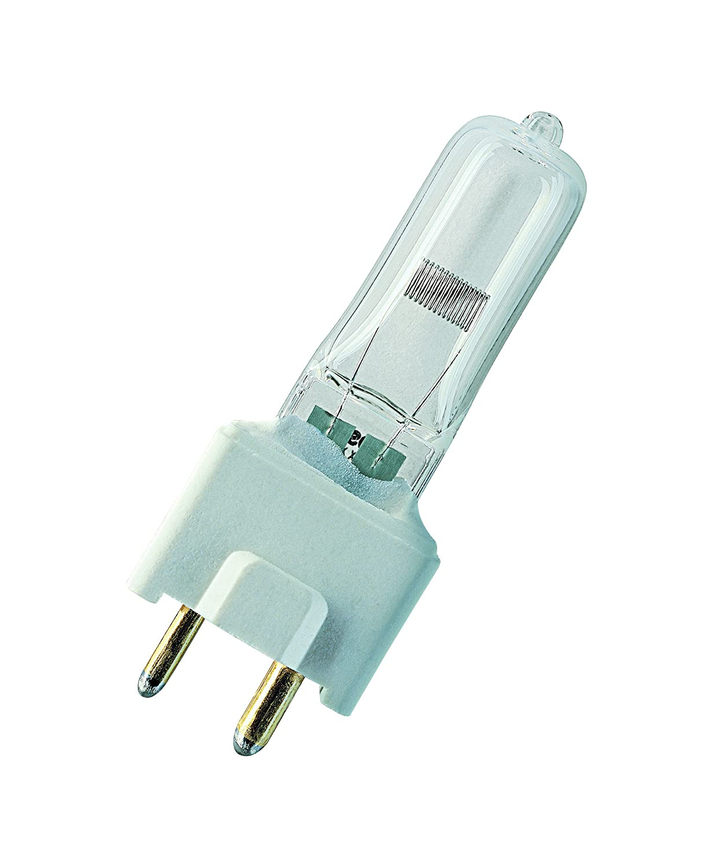 OSRAM 64643 FDS 150W 24V, 3450K, lámpara halógena de bajo voltaje sin reflector, fibra óptica médica (HLX)