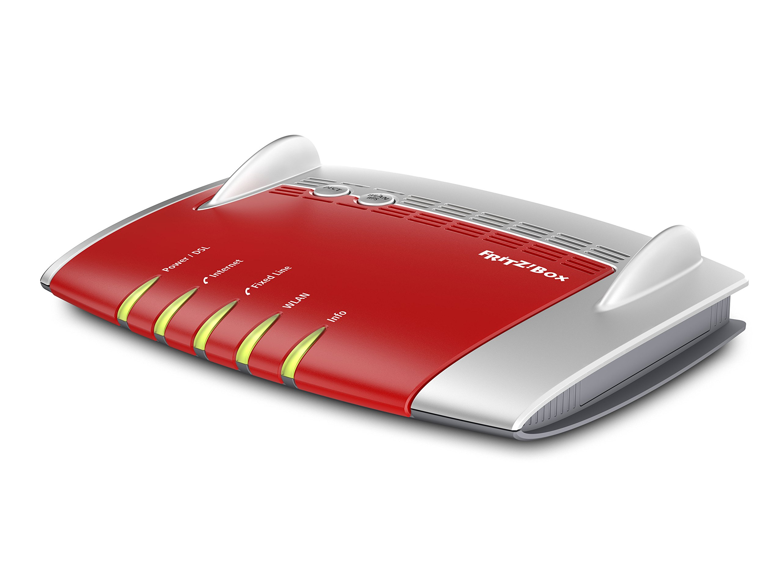 AVM FRITZ!Box 7490 International 4-Port Gigabit Wi-Fi 11AC Router with Integrated FTTC/ADSL Modem