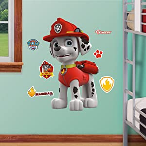 FATHEAD Marshall-X-Large Officially Licensed PAW Patrol Removable Wall Decal