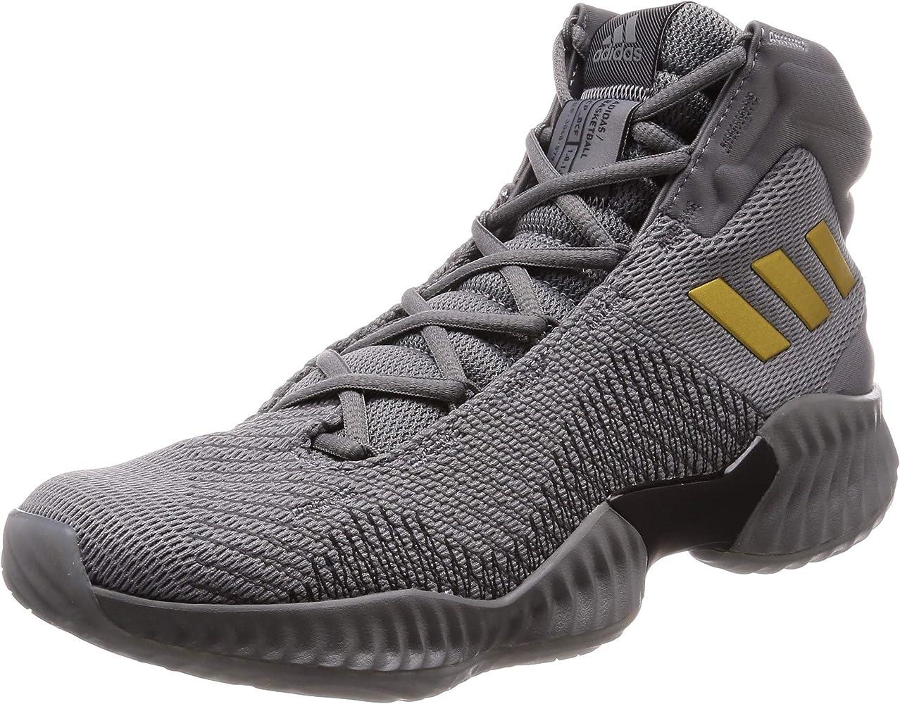 adidas Pro Bounce 2018, Zapatos de Baloncesto para Hombre, Gris ...