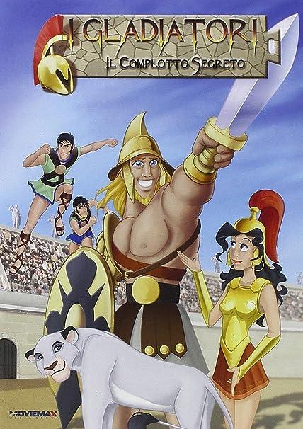Dvd gladiatori di roma la freccia azzurra cartoni animati film