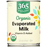365 Everyday Value, Organic Evaporated Milk, 12 oz