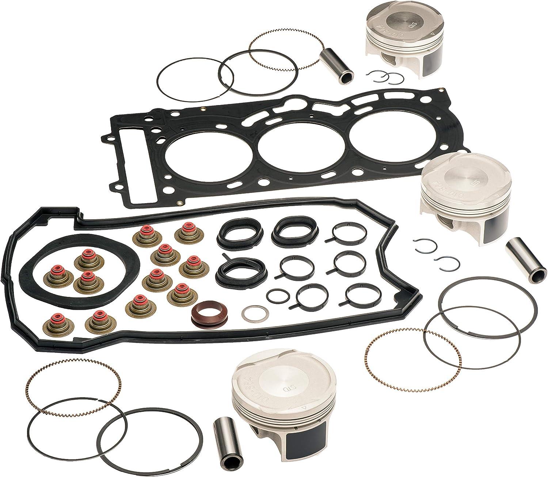 WSM Spark GTI GTS 900 Top End Rebuild Piston Gasket Kit Std Bore 74MM